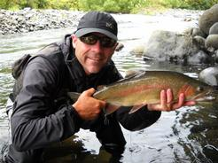 Robin Gilbert, Rainbow Trout - Trout New Zealand - Trout Fishing NZ
